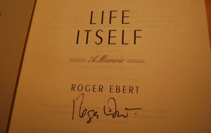 An Autographed Copy Of Life Itself