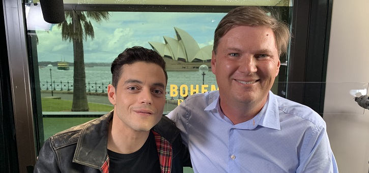 Rami Malek Interview